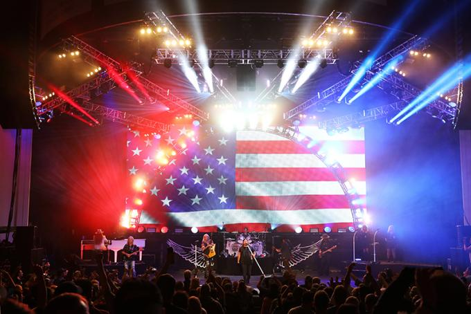 Lynyrd Skynyrd at First Security Amphitheater