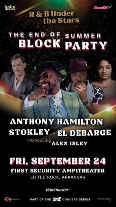 R&B Under the Stars at First Security Amphitheater