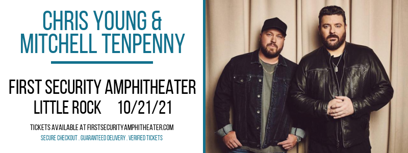 Chris Young & Mitchell Tenpenny at First Security Amphitheater
